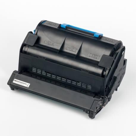 Auf dem Bild sehen Sie den Artikel45488802 von OKI. Dieses Toner Modell eignet sich für die Wiederaufbereitung und wird daher zum Recycling angekauft.