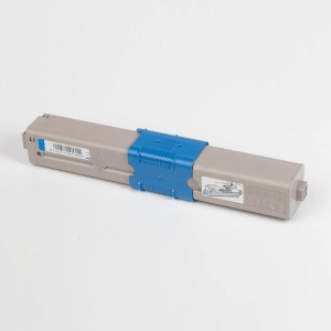 Auf dem Bild sehen Sie den Artikel 46508709-712 von OKI. Dieses Toner Modell eignet sich für die Wiederaufbereitung und wird daher zum Recycling angekauft.
