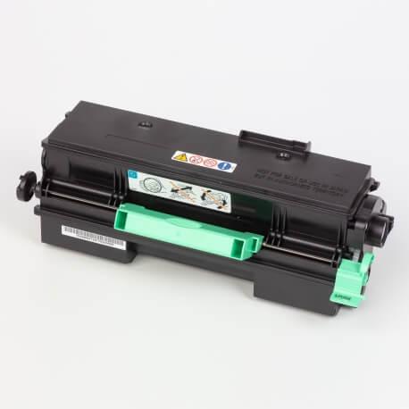 Auf dem Bild sehen Sie den Artikel407318/19 von Ricoh. Dieses Toner Modell eignet sich für die Wiederaufbereitung und wird daher zum Recycling angekauft.