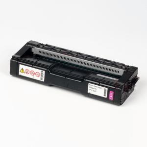 Auf dem Bild sehen Sie den Artikel 407531-34 von Ricoh. Dieses Toner Modell eignet sich für die Wiederaufbereitung und wird daher zum Recycling angekauft.