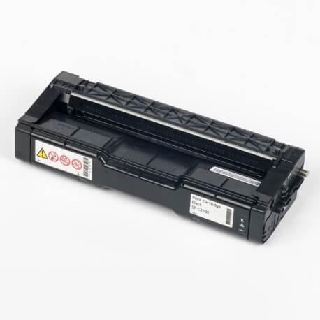 Auf dem Bild sehen Sie den Artikel407543-46 von Ricoh. Dieses Toner Modell eignet sich für die Wiederaufbereitung und wird daher zum Recycling angekauft.