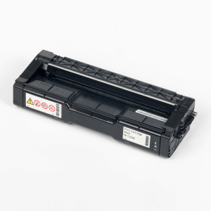 Auf dem Bild sehen Sie den Artikel 407543-46 von Ricoh. Dieses Toner Modell eignet sich für die Wiederaufbereitung und wird daher zum Recycling angekauft.