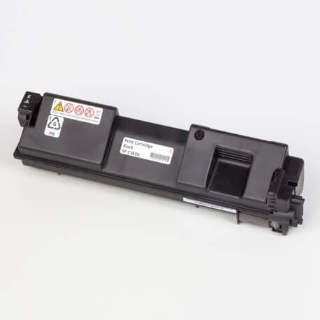 Auf dem Bild sehen Sie den Artikel408184-91 von Ricoh. Dieses Toner Modell eignet sich für die Wiederaufbereitung und wird daher zum Recycling angekauft.