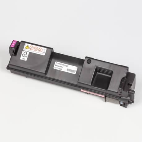 Auf dem Bild sehen Sie den Artikel408250-53 von Ricoh. Dieses Toner Modell eignet sich für die Wiederaufbereitung und wird daher zum Recycling angekauft.