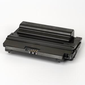 Auf dem Bild sehen Sie den Artikel MLD 3050A/B von Samsung. Dieses Toner Modell eignet sich für die Wiederaufbereitung und wird daher zum Recycling angekauft.