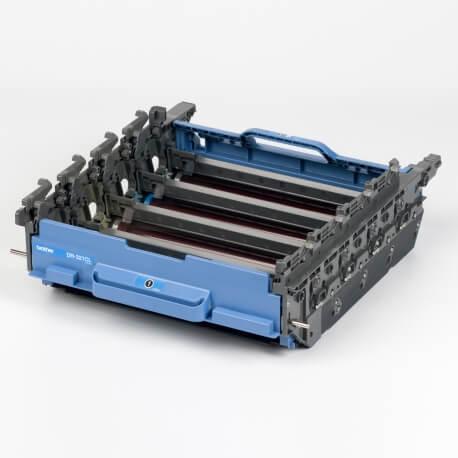 Auf dem Bild sehen Sie den ArtikelDR-321 von Brother. Dieses Trommel Modell eignet sich für die Wiederaufbereitung und wird daher zum Recycling angekauft.