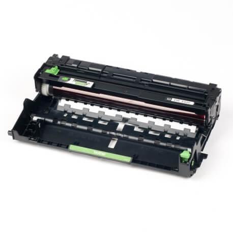 Auf dem Bild sehen Sie den ArtikelDR-3400 von Brother. Dieses Trommel Modell eignet sich für die Wiederaufbereitung und wird daher zum Recycling angekauft.