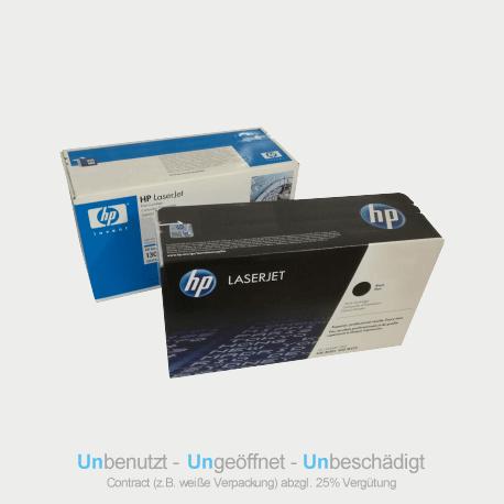 Auf dem Bild sehen Sie den ArtikelCE250X von Hewlett-Packard. Dieses Toner Modell eignet sich für die Wiederverwendung und wird daher angekauft.