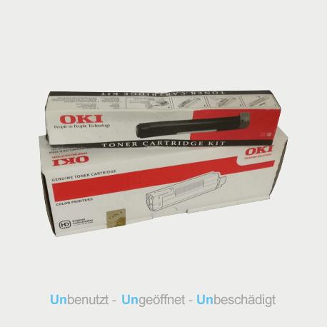 Auf dem Bild sehen Sie den Artikel45488802 von OKI. Dieses Toner Modell eignet sich für die Wiederverwendung und wird daher angekauft.