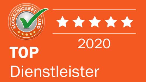 Geldfuermuell auch 2020 wieder Top Dienstleister bei ausgezeichnet.org