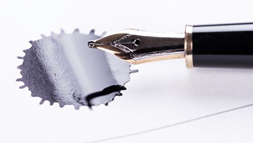 Tintenflecken entfernen - Die ultimative Anleitung gegen Flecken!