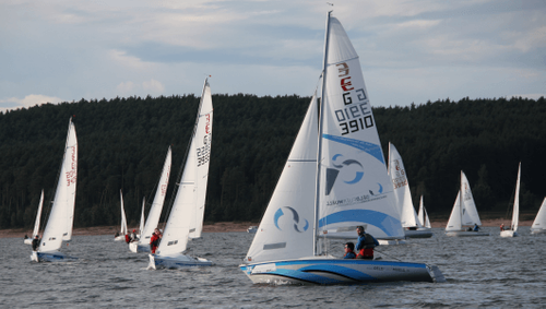 Unser Team war erfolgreich bei der Deutschen Meisterschaft 2015 der Bootsklasse Conger